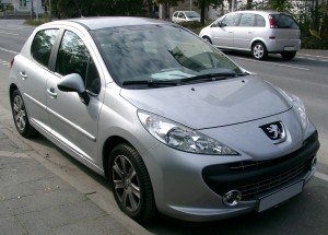 Scrapping a Peugeot 207