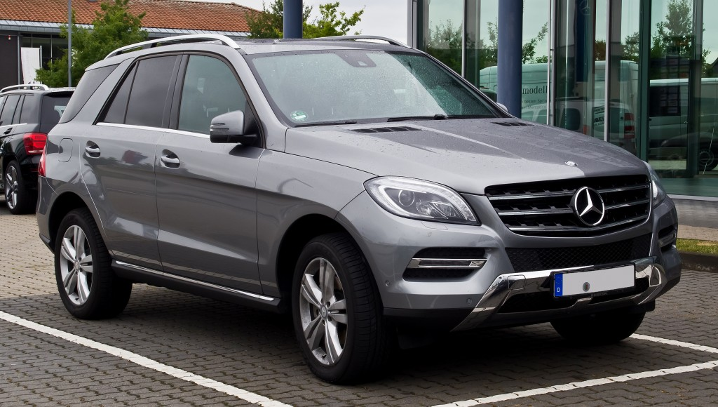 Scrapping a Mercedes ML