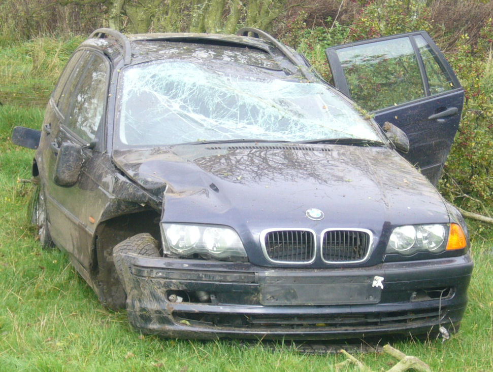 Scrapping a BMW