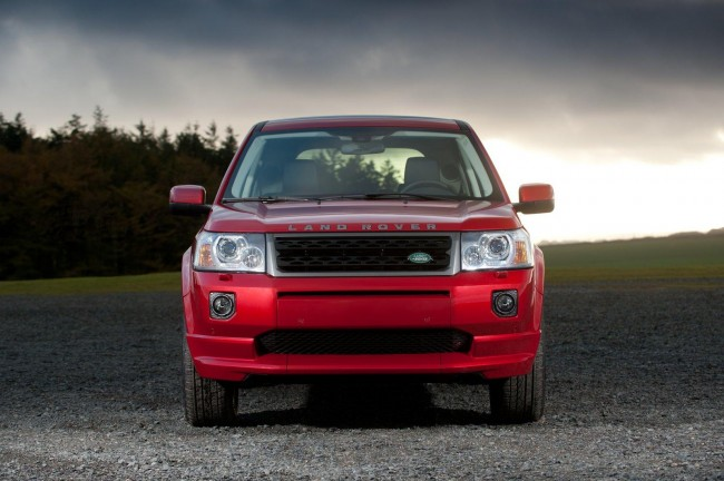 Scrapping a Land Rover Freelander