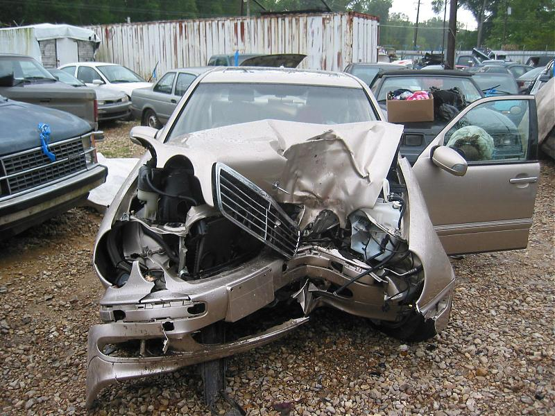 Scrapping your Mercedes E
