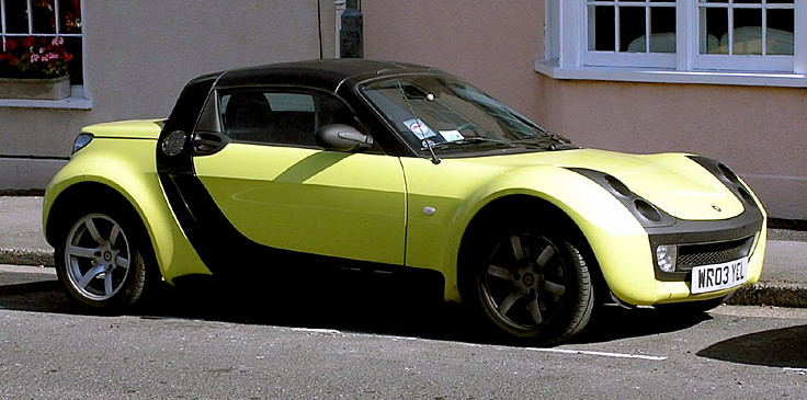 Scrap Your Smart Car Roadster