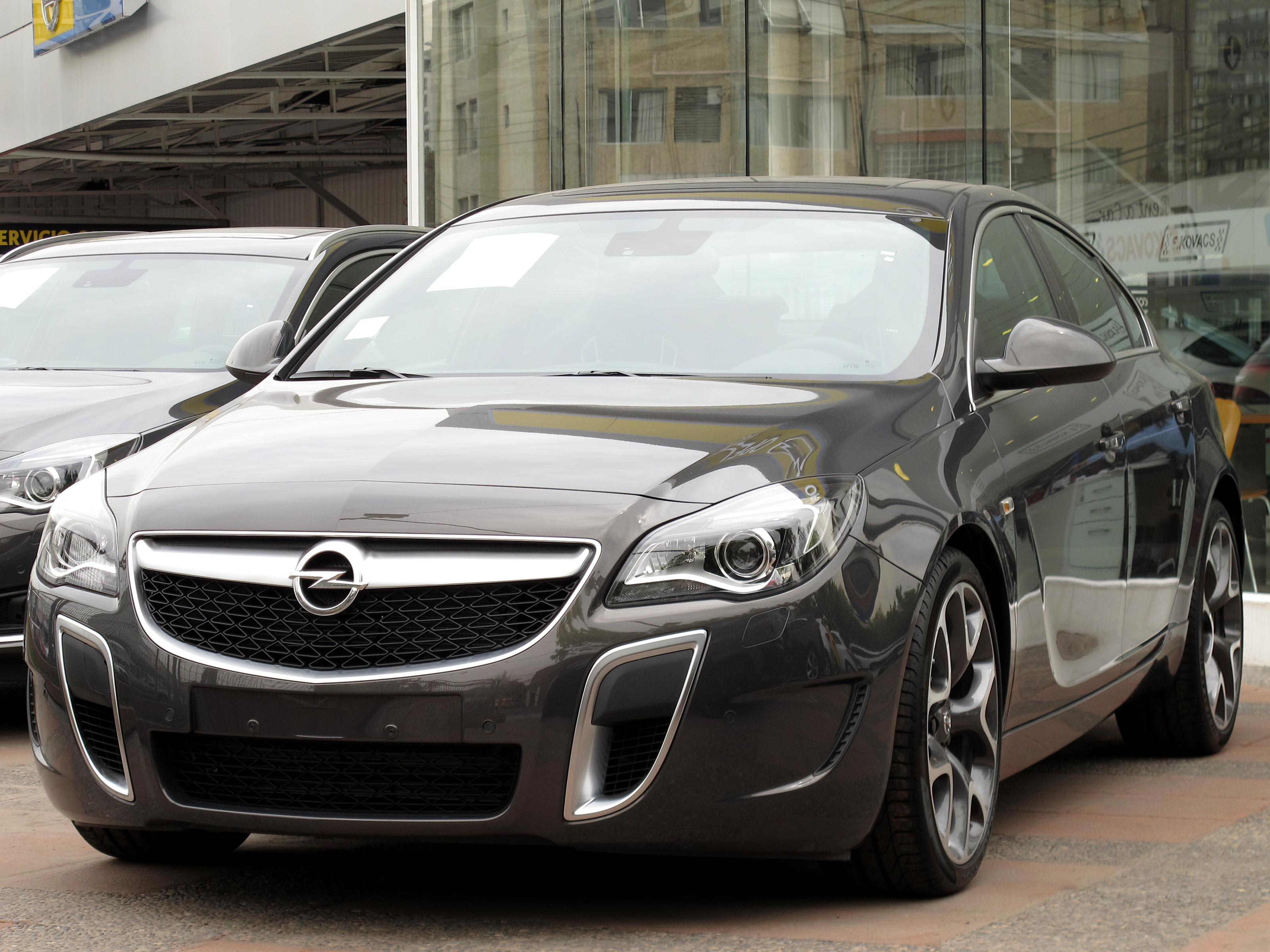 Scrapping a Vauxhall Insignia
